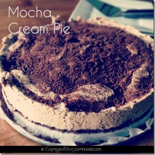 No Bake Mocha Cream Pie from Cosmopolitan Cornbread