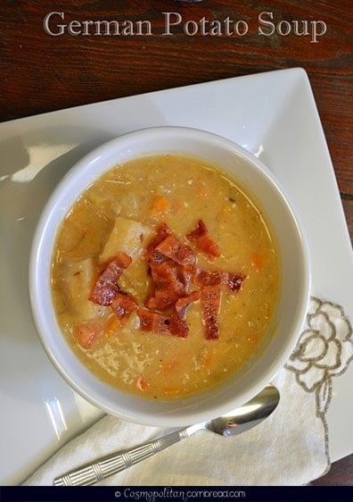 German Potato Soup – a tangy and delicious supper made in your slow ...