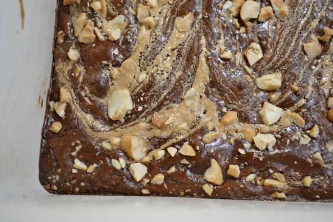 Cashew Swirl Brownies from Cosmopolitan Cornbread