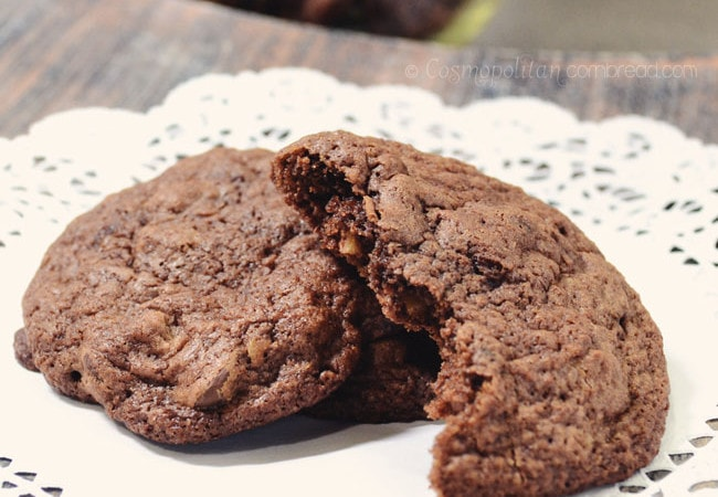 Mocha Brownie Cookies from Cosmopolitan Cornbread
