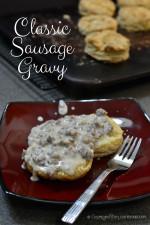 Classic Sausage Gravy from Cosmopolitan Cornbread