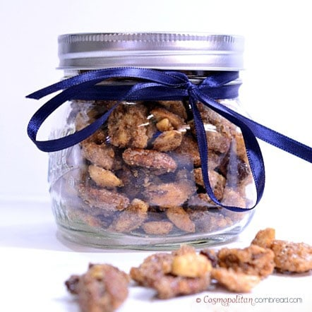How to make Roasted Spiced Nuts from Cosmopolitan Cornbread - makes a great Holiday gift!