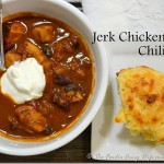 Jerk Chicken Chili | #SundaySupper