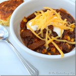 Moose Chili for a Tail-Gating #SundaySupper