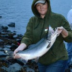Salmon Fishing in Valdez