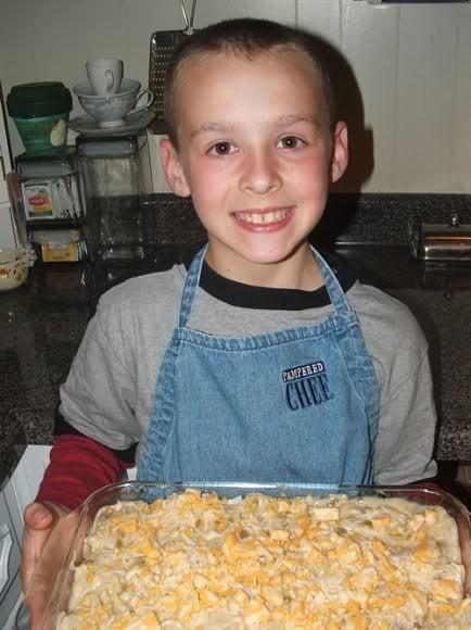 Chicken Tortilla Bake | #SundaySupper