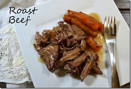 Dad's Favorite Roast Beef | #SundaySupper