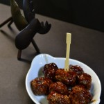 Drunk Moose Meatballs | It's a #SundaySupper Holiday Event