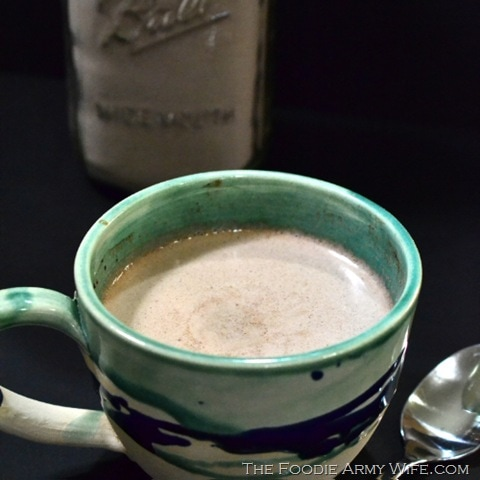 Homemade Mocha Hot Cocoa Mix