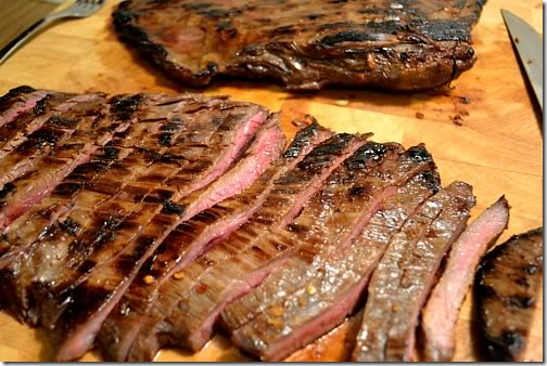 Marinated Flank Steaks