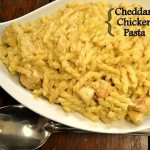 Cheddar Chicken Pasta