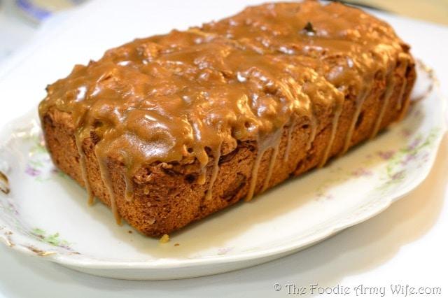 Caramel Apple Bread | #SundaySupper!