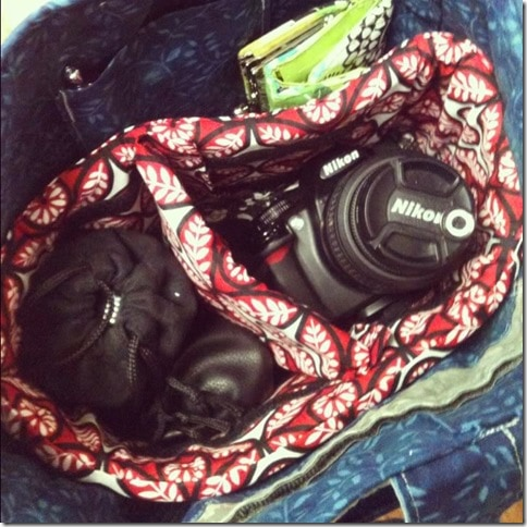 DIY: Camera Case Insert for Your Purse