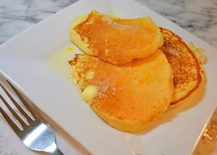 Ricotta Pancakes from The Foodie Army Wife