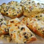 Cheesy Feta Olive Bread
