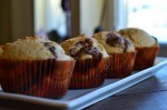 Peanut Butter Muffins with Reese's Minis