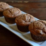Nutella Chocolate Chip Muffins from The Foodie Army Wife