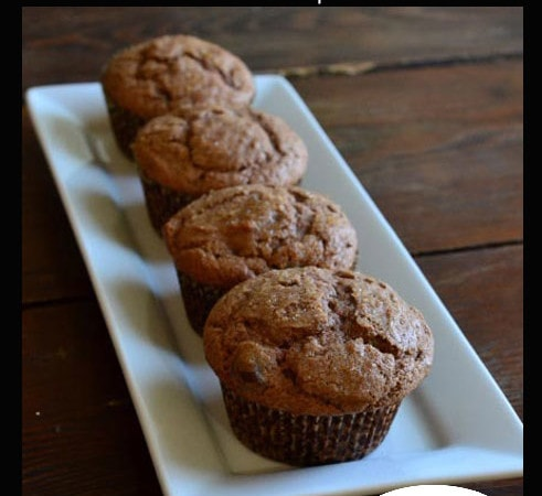 Nutella Chocolate Chip Muffins