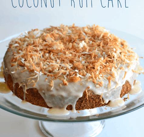 Coconut Rum Cake from Cosmopolitan Cornbread