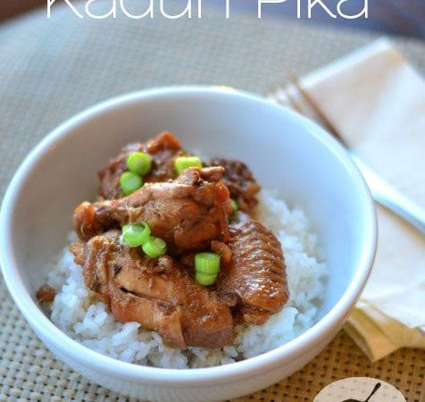 Kadun Pika (Chamorro Chicken Wings) from Cosmopolitan