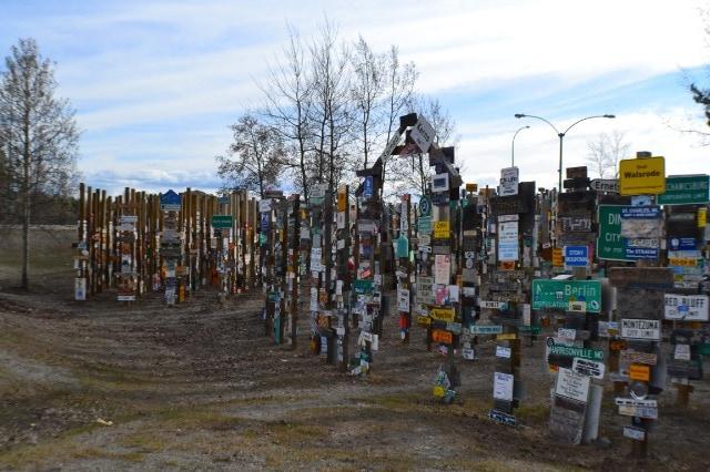 Watson Lake Signpost Forest - Yukon