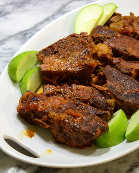 Apple Barbecue Country Pork Ribs