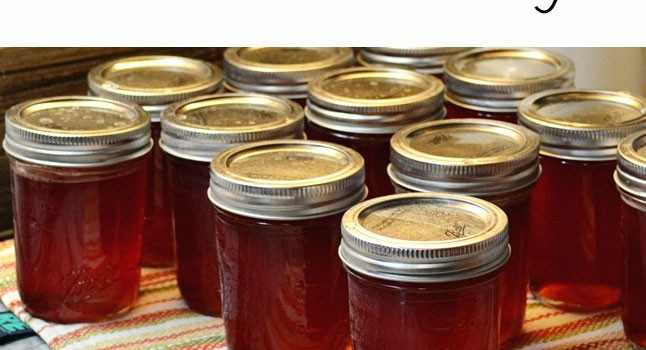 Fireweed Jelly | Preserving the Harvest #SundaySupper