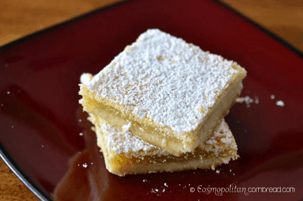 Lemonade Bars from Cosmopolitan Cornbread