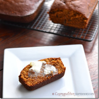 omemade Pumpkin Bread from Cosmopolitan Cornbread