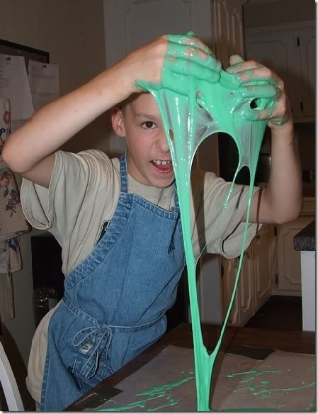 Science Experiments and a Printable Slime Recipe