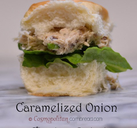 Caramelized Onion Chicken Salad Sandwiches from Cosmopolitan Cornbread