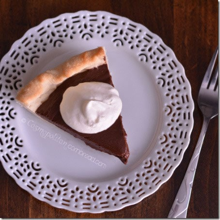 Chocolate Pie from Cosmopolitan Cornbread