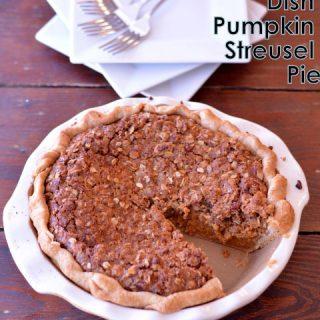Deep Dish Pumpkin Streusel Pie from Cosmopolitan Cornbread