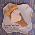 Granny Compton's Butterscotch Pie from Cosmopolitan Cornbread