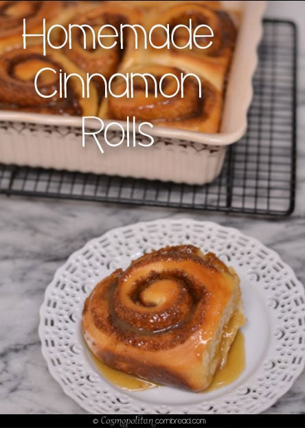 How to make Homemade Cinnamon Rolls from Cosmopolitan Cornbread