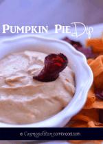 Pumpkin Pie Dip from Cosmopolitan Cornbread