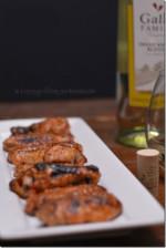 Honey Dijon Glazed Wings from Cosmopolitan Cornbread