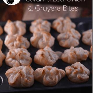 Caramelized Onion and Gruyere Bites from Cosmopolitan Cornbread