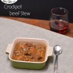Crockpot Beef Stew from The Foodie Army Wife