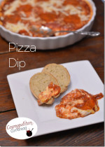 Pizza Dip | #SundaySupper