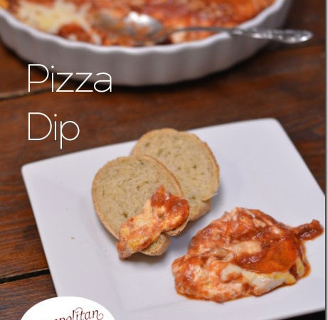 Pizza Dip & a Collection of Party Food Recipes