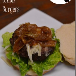 French Onion Burgers from Cosmopolitan Cornbread