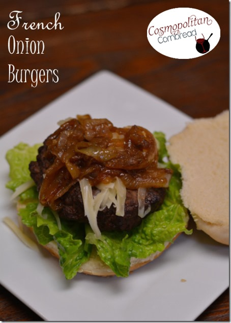 French Onion Burgers | #WeekdaySupper