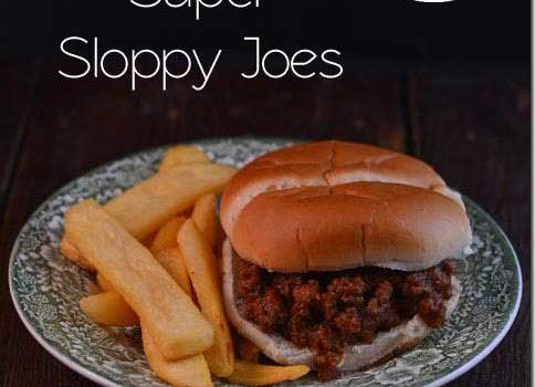 Super Sloppy Joes | #SundaySupper