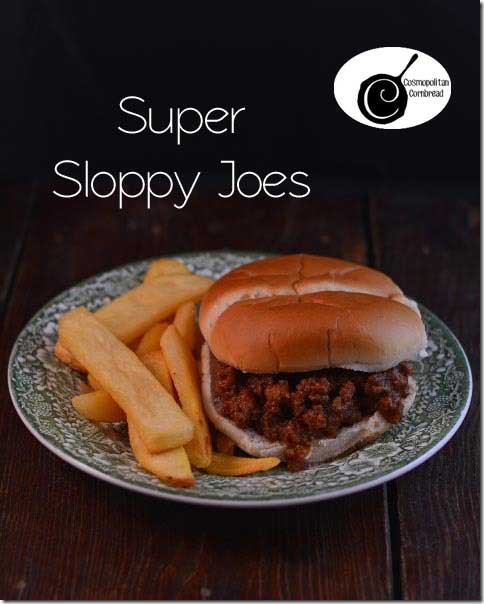 Super Sloppy Joes | #SundaySupper
