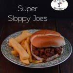 Super Sloppy Joes from TheFoodieArmyWife.com