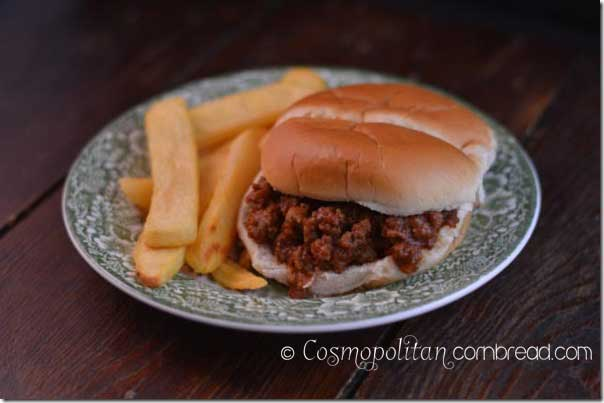 Super Sloppy Joes from Cosmopolitan Cornbread
