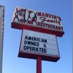 Marvin's Family Restaurant–Fayetteville, Tennessee