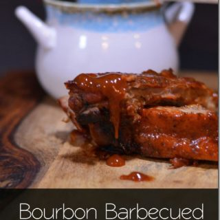 Bourbon Barbecued Baby Back Ribs - you definitely want to make these ribs from Cosmopolitan Cornbread!