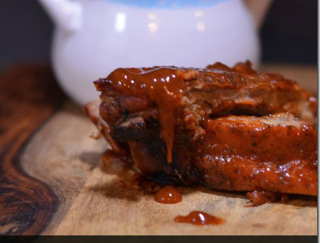 Bourbon Barbecued Baby Back Ribs #BourbonBBQ